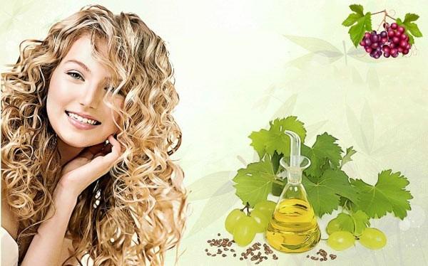 روغن هسته انگور برای مو